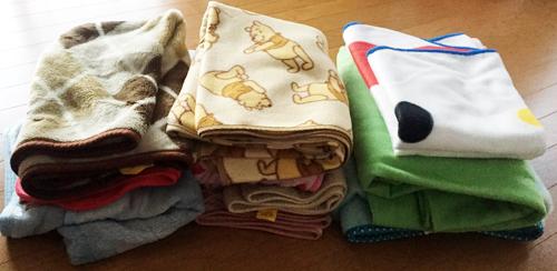 支援品:毛布
