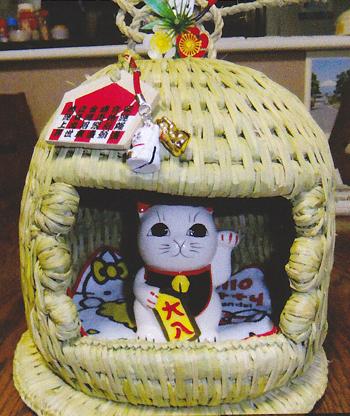 ミニ猫つぐら 飾り例