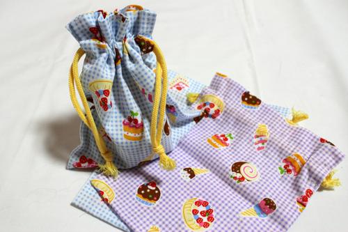 猫の日プレゼント 巾着袋
