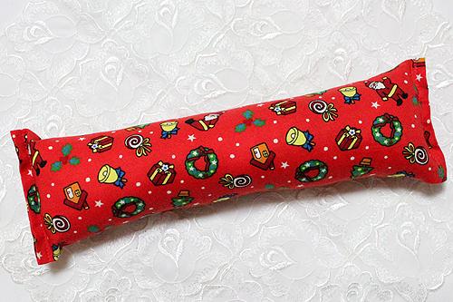 手作りキッカー クリスマス2013レッド