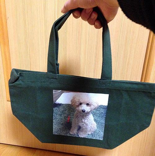 オリジナル写真プリント キャンバスバッグ小写真