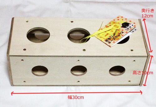 手作りチーズボックス3個穴