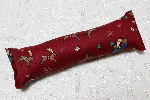 手作りキッカー クリスマス柄E サンタとトナカイ
