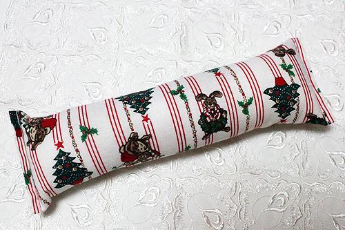 手作りキッカー クリスマス柄F ツリーとラビット