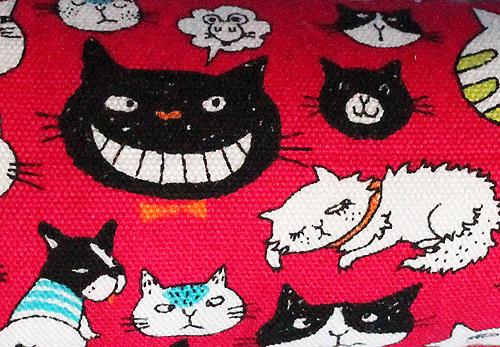猫のおもちゃ、手作りキッカー 猫時々犬マゼンダ2