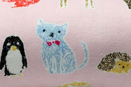 またたび入り手作りキッカー Cat&Animalライトピンク拡大