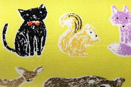 またたび入り手作りキッカー Cat&Animalイエロー拡大
