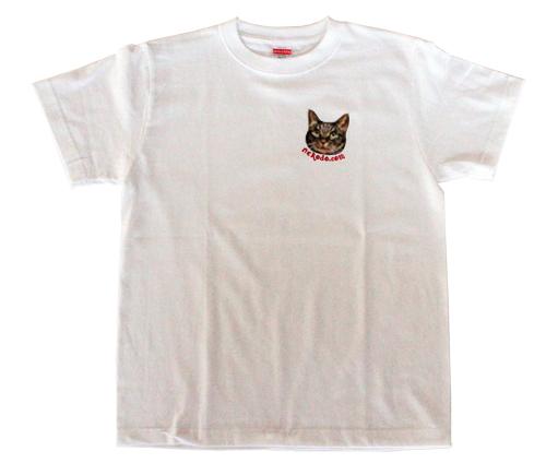 Tシャツちゃあ店長、ホワイト