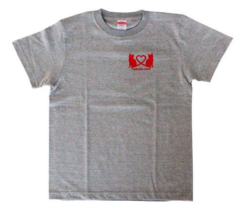 Tシャツ、ミックスグレー