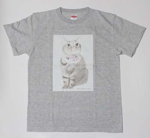 ちゃあ店長イラストのオリジナルTシャツ