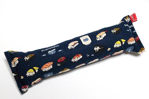 またたび入り手作りキッカー寿司猫ネイビー