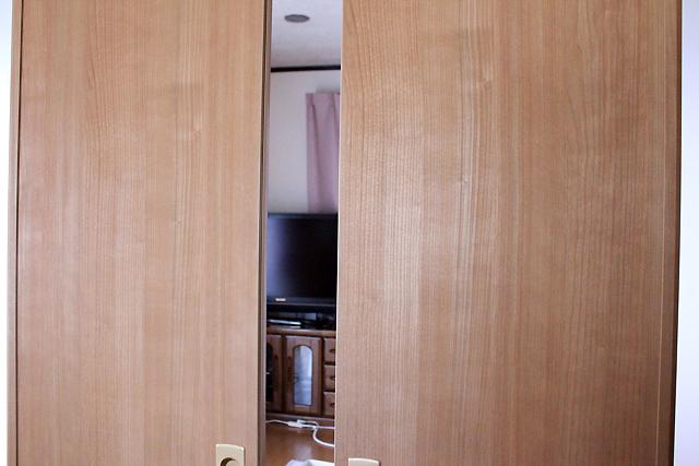保護っ子部屋のドア