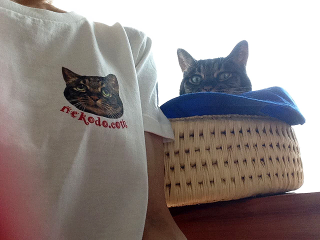 ちゃあ店長とちゃあ店長Tシャツ