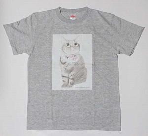 ちゃあ店長イラストTシャツ