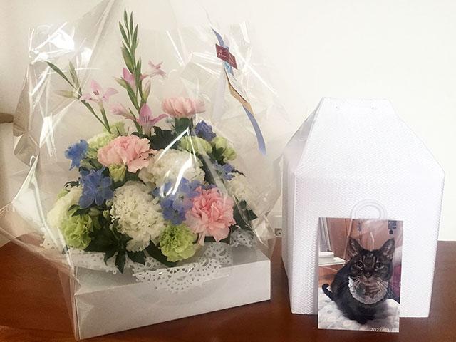 お花ありがとうございます